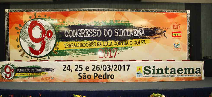 Álbum do 1º dia do 9º Congresso do SINTAEMA-SP