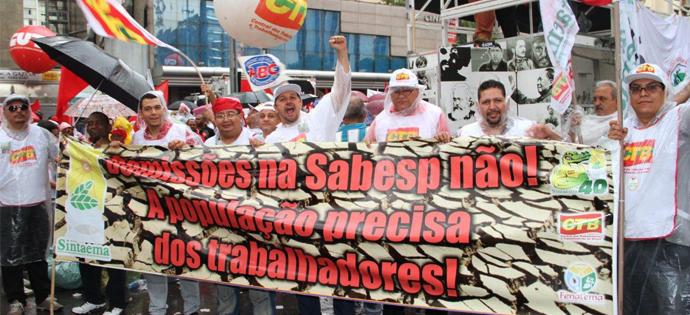 destaque_SINTAEMA-SP no ato em defesa do Brasil - 13-03-2015