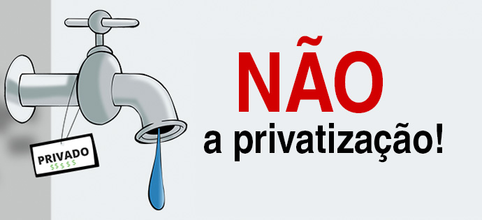 Resultado de imagem para não a privatização