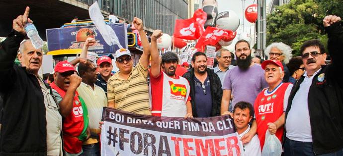 Rumo à Greve Geral – Ato do dia 31 reuniu mais de 40 mil na Paulista