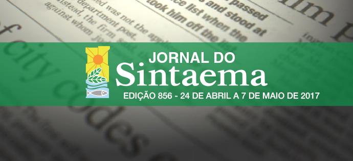 Jornal do Sintaema – Nº 856