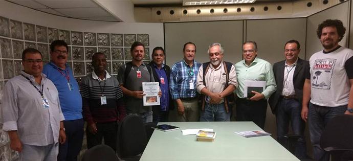 Fundação Florestal – Sintaema entrega a pauta