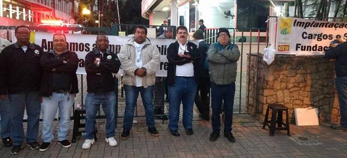 CETESB – Trabalhadores estão em greve