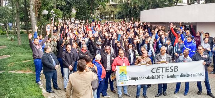 CETESB – É greve a partir do dia 22!
