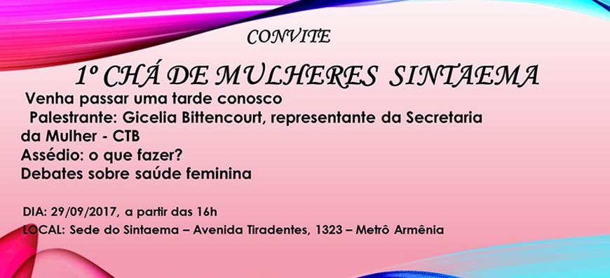1ºCháde Mulheres Sintaema