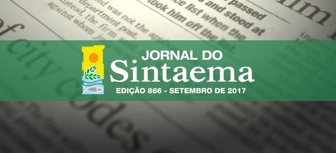 JORNAL DO SINTAEMA – Nº 866