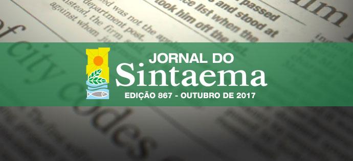 JORNAL DO SINTAEMA – Nº 867
