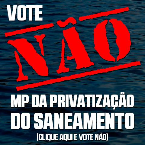 Sobre a MP da privatização do Saneamento