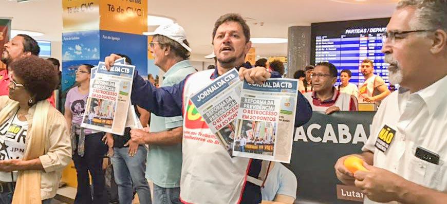 Contra a Reforma da Previdência: Se colocar para votar, o Brasil vai parar!