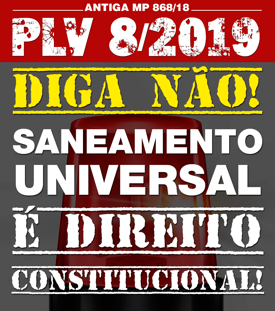 MP da sede e da conta alta virou PLV e irá a plenário na Câmara dos Deputados – Juntos podemos barrar, lute conosco!