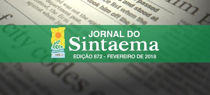 JORNAL DO SINTAEMA – Nº 872