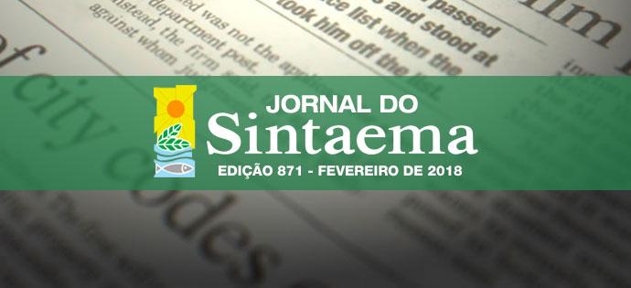 JORNAL DO SINTAEMA – Nº 871