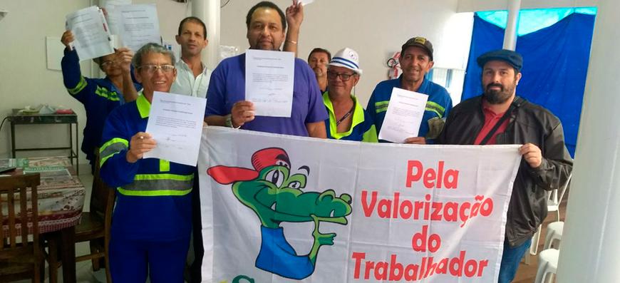 Campanha do Sintaema debate importância da contribuição sindical