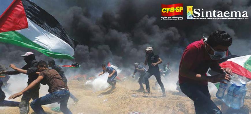 Israel promove um novo massacre na faixa de Gaza