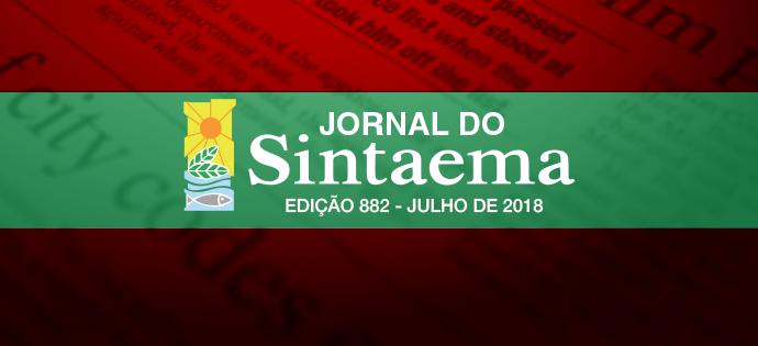 JORNAL DO SINTAEMA – Especial 7/2018
