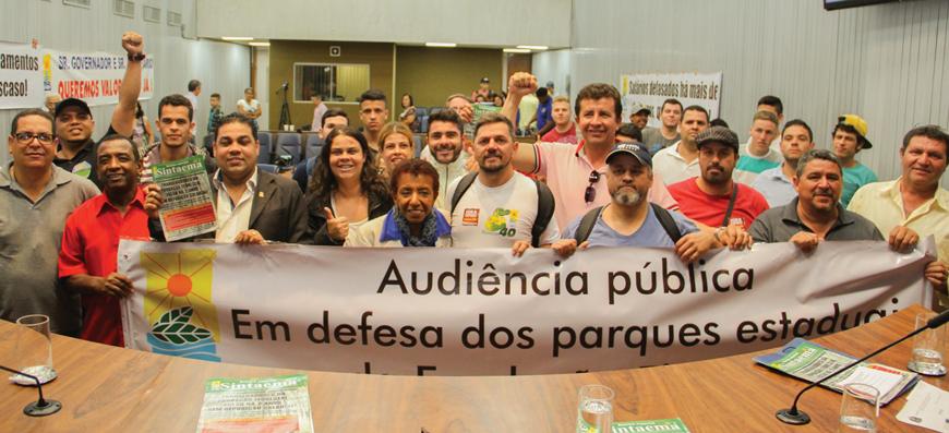 Fundação Florestal | Conquista: Depois de muita luta, trabalhadores terão o merecido reajuste!
