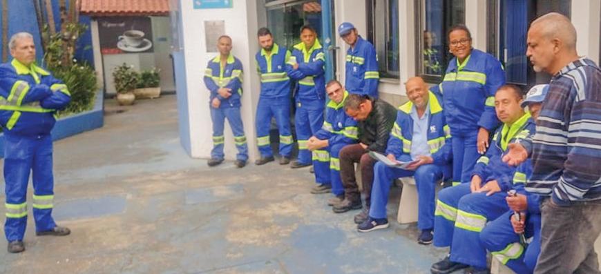 Sabesp – Por mais valorização dos trabalhadores da manobra