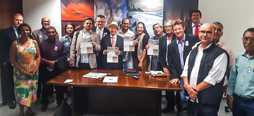 MP 844/18 – Todos juntos em Brasília contra a privatização do saneamento