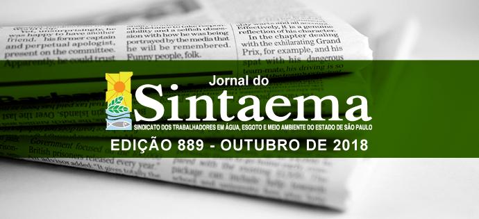 JORNAL DO SINTAEMA – Nº 889