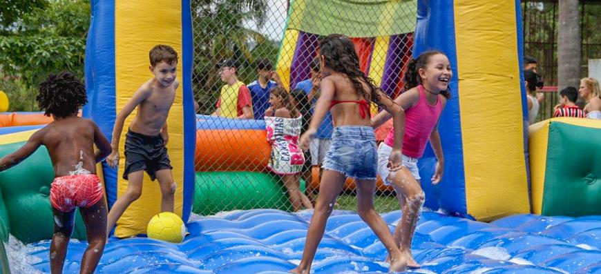 Alegria – A diversão foi garantida na Festa do Dia das Crianças
