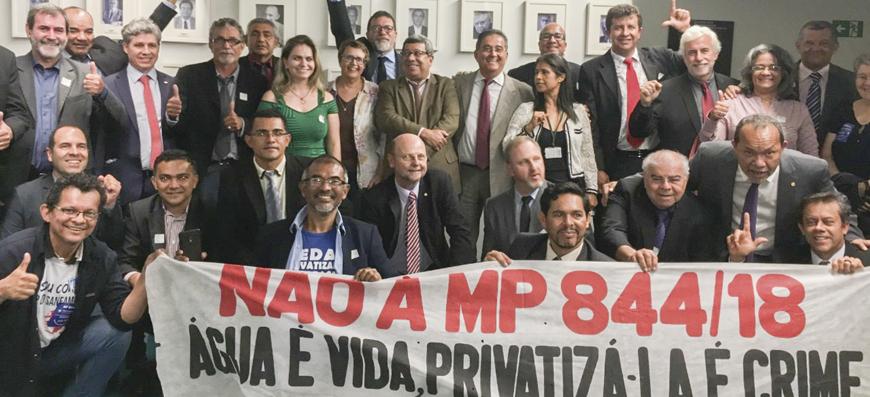 Vitória dos trabalhadores – MP 844/18 foi derrotada!