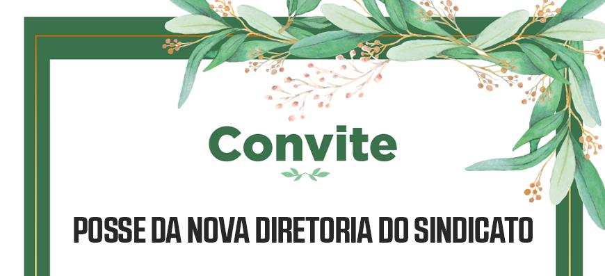 PARTICIPE DA POSSE DA NOVA DIRETORIA DO SINTAEMA-SP