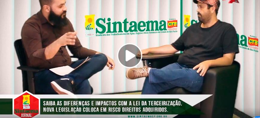 TV SINTAEMA: Estréia na TVA – Sintaema Jornal