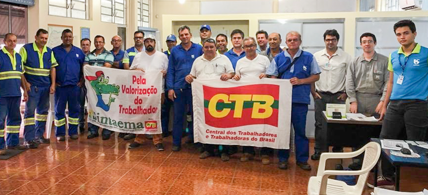 Sabesp de Jales – Juntos na luta!