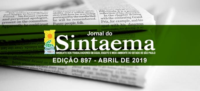 JORNAL DO SINTAEMA – Nº 897