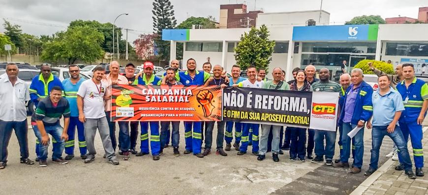 Campanha Salarial 2019 – Categoria em ação