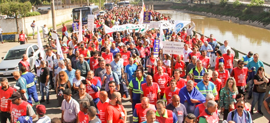 MP 868/18 – PLV 8/19 | Milhares se juntam à luta contra a privatização do saneamento