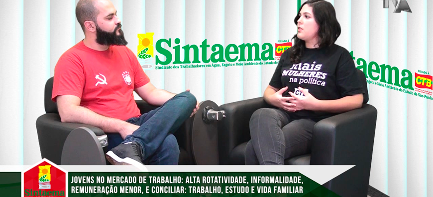 TV SINTAEMA JORNAL – Juventude: A crise no Brasil