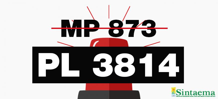 MP 873 caducou, porém Senado quer ressuscitá-la