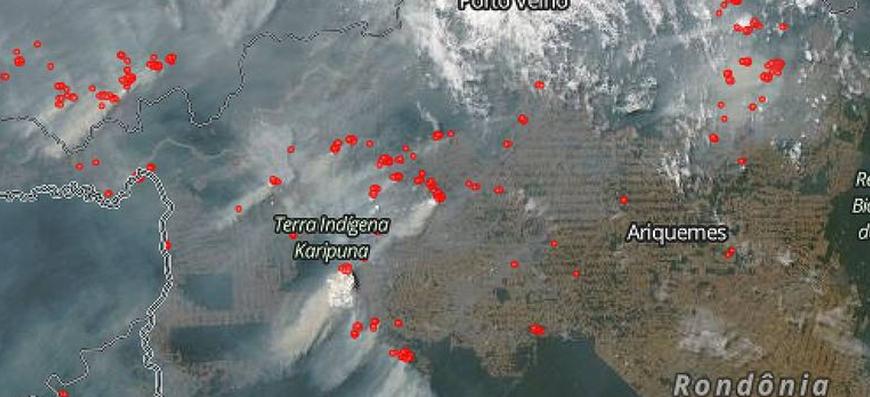 Amazônia – Cientistas da Nasa afirmam que os focos de incêndio têm assinatura do desmatamento