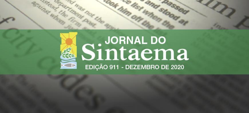 JORNAL DO SINTAEMA – Nº 911