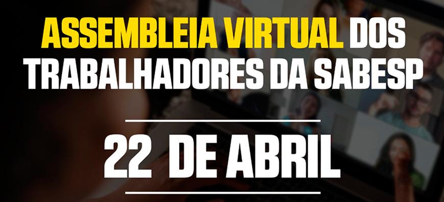 SABESP | 1ª Assembleia Virtual de Campanha Salarial da Sabesp 2021