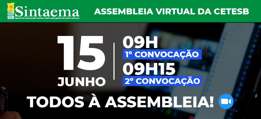 Cetesb- Campanha Salarial 2021 | Todos à assembleia para…