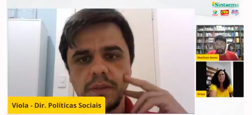 Live Sintaema | Prevenção do suicídio entre os trabalhadores em tempos de pandemia