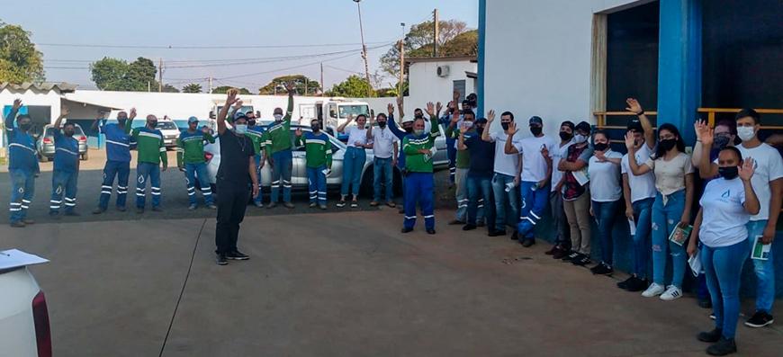 Grupo Terracom Saneamento – Campanha Salarial